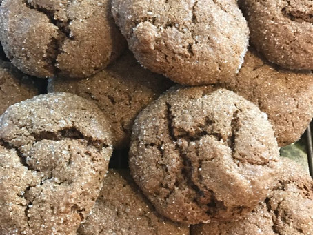 Yummy molasses cookies to increase your dietary iron naturally!