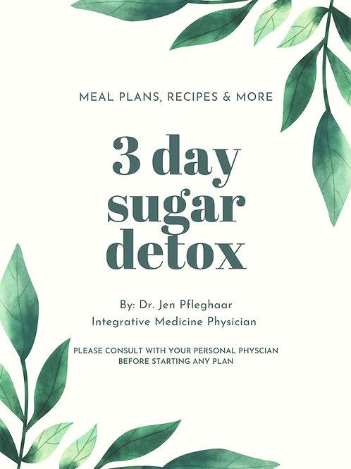 3 Day Sugar Detox