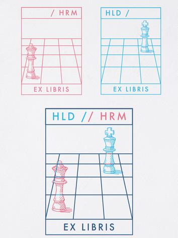 Couple's Ex Libris