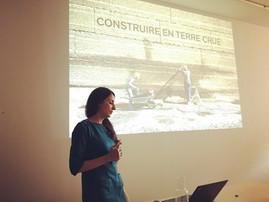 """Conférence """"Construire en terre crue """" Agence TVK , Paris, 18 avril 2019 à 18h30"""