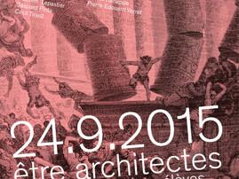 Biennale des anciens élèves de L'Ecole d'architecture de Paris Belleville I Organisation avec Fabien
