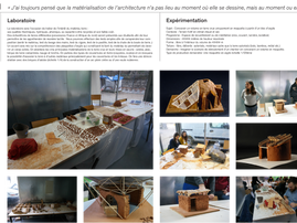 Exposition à L'Ecole d'architecture de Paris Malaquais