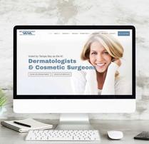 Bay Dermatology-Branding, Web Design