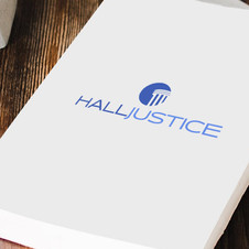 Hall-Justice Law Firm- Logo Design