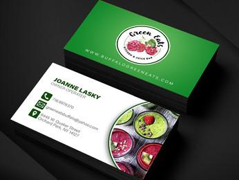 Green Eats Business Cards