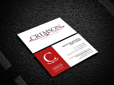 Crimson Strategy- Business Cards