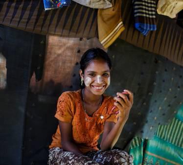 Rifugiati del Myanmar: carenze nella salute e nella sicurezza ma forte spirito della comunità