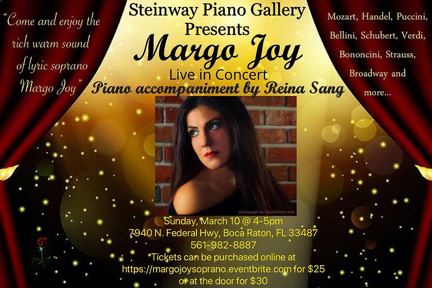 Margo Joy Steinway Piano Gallery