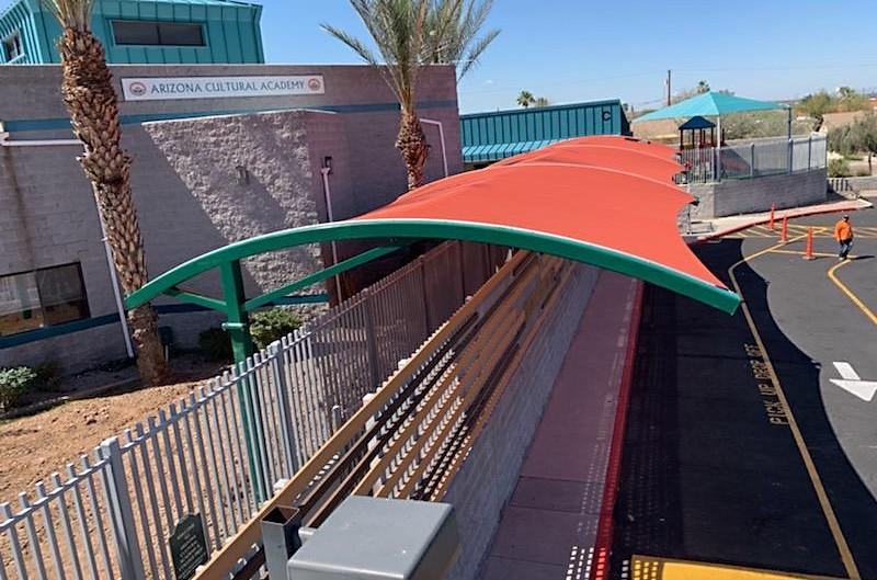 Arched Shade, Phoenix, Arizona