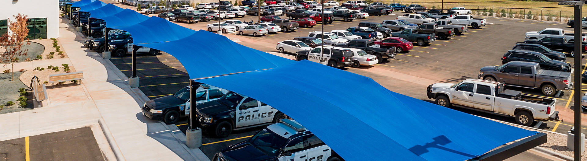 Parking Shade Structures, Abilene, TX