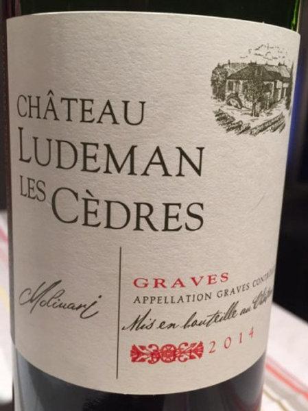 Château Ludeman Les Cèdres, Graves