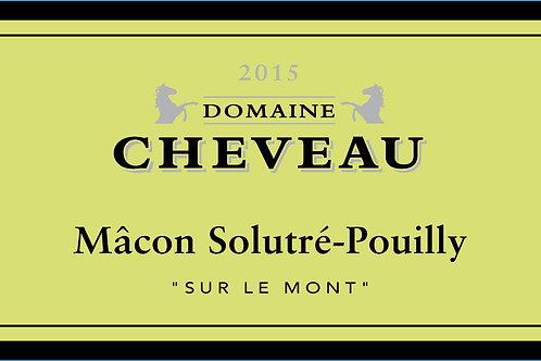 """Mâcon Solutré-Pouilly AOC """"Sur le Mont"""" 2018"""