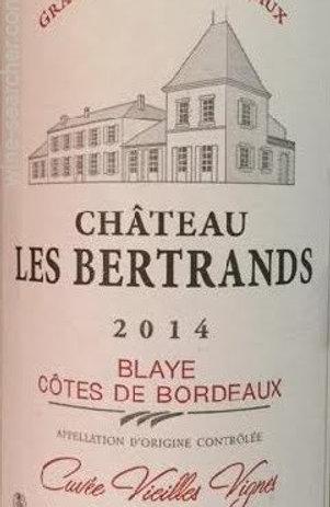 Château Les Bertrands, Côtes de Blaye 2017
