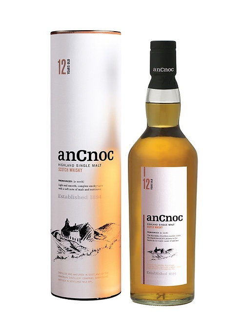 Whisky AnCnoc 12y  70cl