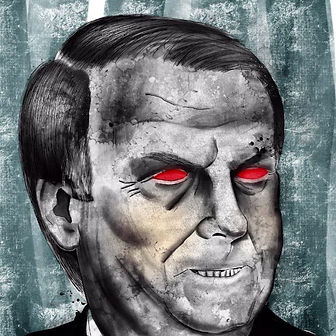 editorial illustration bolsonaro sussman
