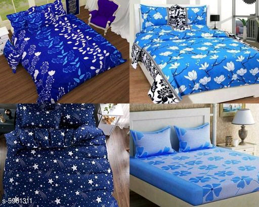 Attractive Polycotton Bedsheets (s-5901311)