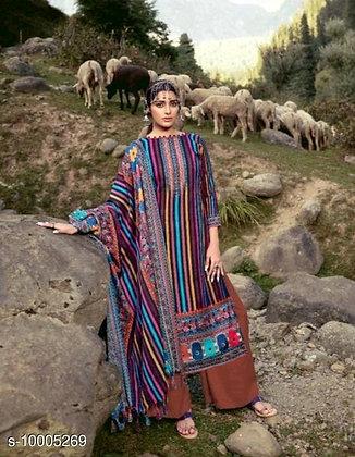 Pashmini wool dress material (s-10005269)