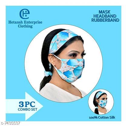 Mask + Headband +Rubberband(s-7435537)