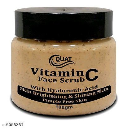 Quat Vitamin C face Scrub
