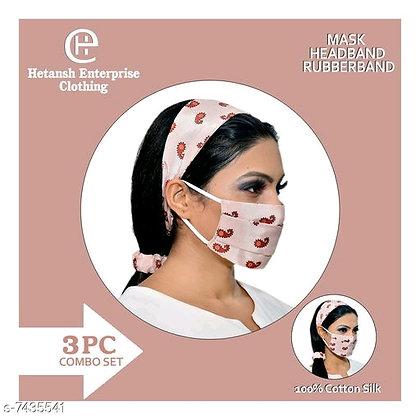 Mask + Headband +Rubberband(s-7435541)