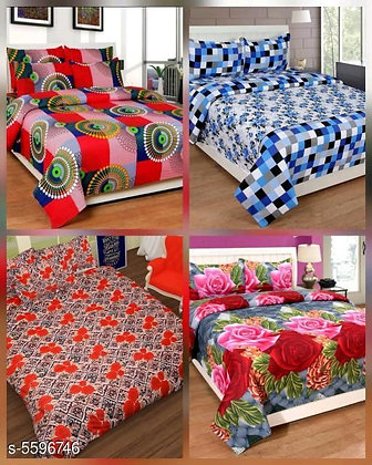 Attractive Polycotton Bedsheets (s-5596746)