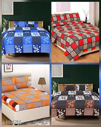 Attractive Polycotton Bedsheets (s-5596760)
