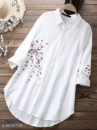 Embroidered Rayon Top(s-6835728)