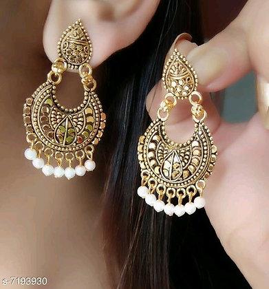 Indian Oxidized Jhumka Earrings (s-7193930)