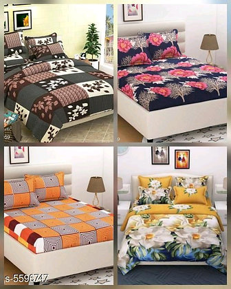 Attractive Polycotton Bedsheets (s-5596747)