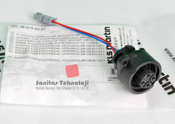 Footpedal Monopolar Socket ME401/411