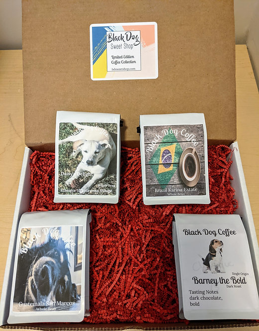 Limited Edition Sampler Pack (Ground & Whole Bean)