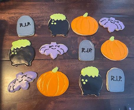 Halloween Sugar Cookies (1 Dozen)