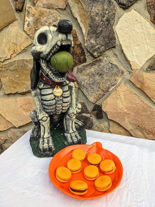 Pumpkin Spiced Macarons (1 Dozen)