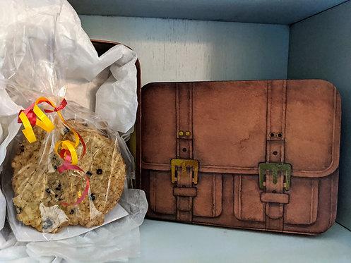 Briefcase Oatmeal Cookie Gift Box (1 Dozen)