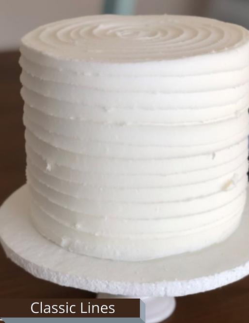 """White Chocolate Strawberry (9"""" Cake)"""