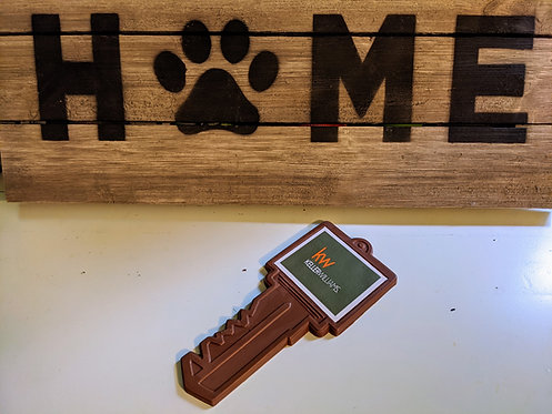 House Key with Custom Logo