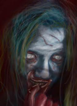 Ghoul photoshop sketch