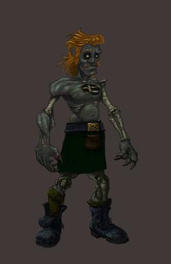 Abercrombie Zombie - Photoshop