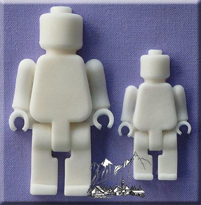 Silikonform - Moulds - Brick Man