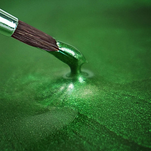 RD Metallic Food Paint Holly Green