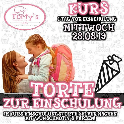 Torty`s - Fondant Tortenkurs - Einschulung - 29.08.19