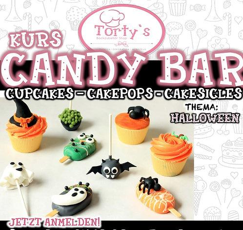 Torty`s - Candy Bar Kurs - Thema: Halloween - 31.10.21