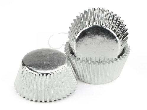 Muffin/Cupcake Förmchen Alu Silber 60 Stück