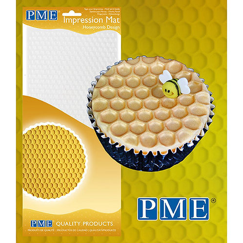 PME Impression Mat Honeycomb / Honigwabe