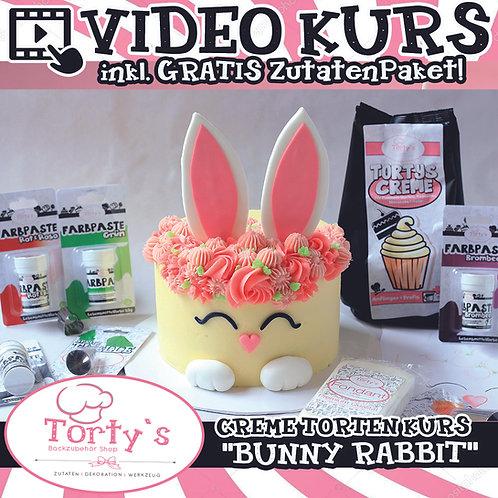 Creme Torten-Box mit GRATIS Video - All Inclusive - Bunny Rabbit