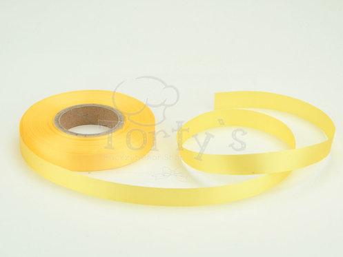 Satinband - Deko - Pastellgelb