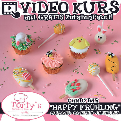 CandyBar-Box mit GRATIS Video - All Inclusive - Happy Frühling