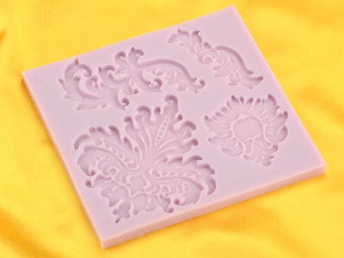Silikonform Flexform Damask