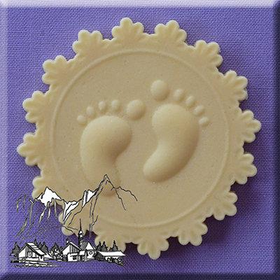 Silikonform - Moulds - Babyfüsse
