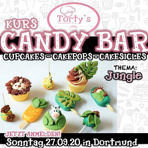 Torty`s - Candy Bar Kurs - Thema: Jungle - 27.09.20